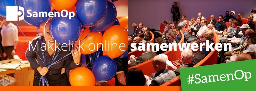 Beleef ook de feestelijke lancering van SamenOp!
