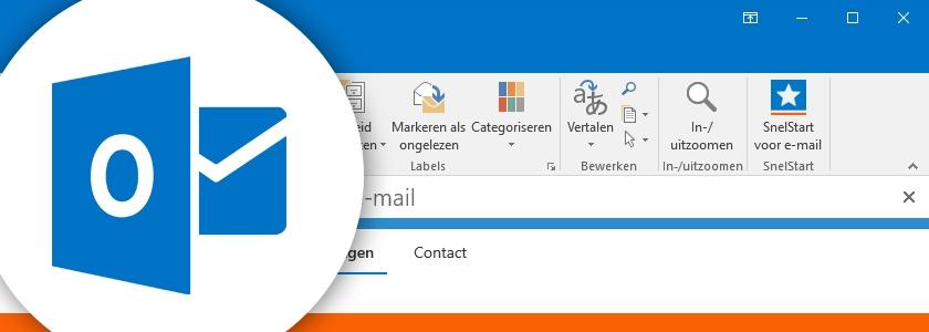 SnelStart en Outlook gekoppeld
