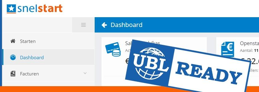 UBL-facturen automatisch verwerkt in SnelStart Web