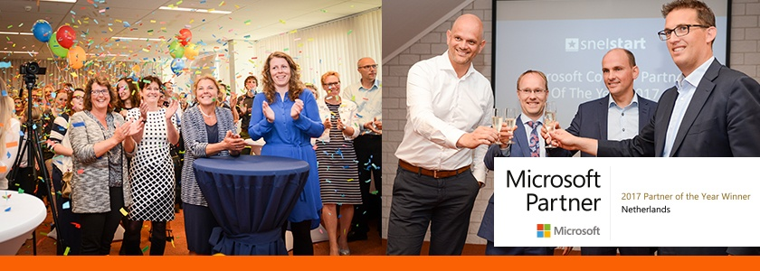 SnelStart is Microsoft Country Partner of the Year!
