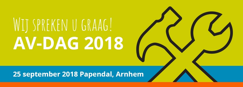 25 september is het zo ver: de AV-dag 2018
