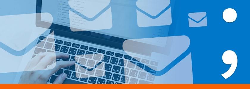 Versturen naar meerdere mailadressen? Gebruik nu de puntkomma!