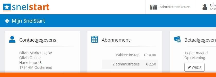 Mijn SnelStart vernieuwd: (nog) meer gebruiksgemak en functionaliteiten