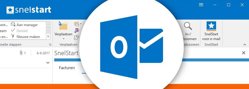 SnelStart voor e-mail: altijd in contact met uw administratie