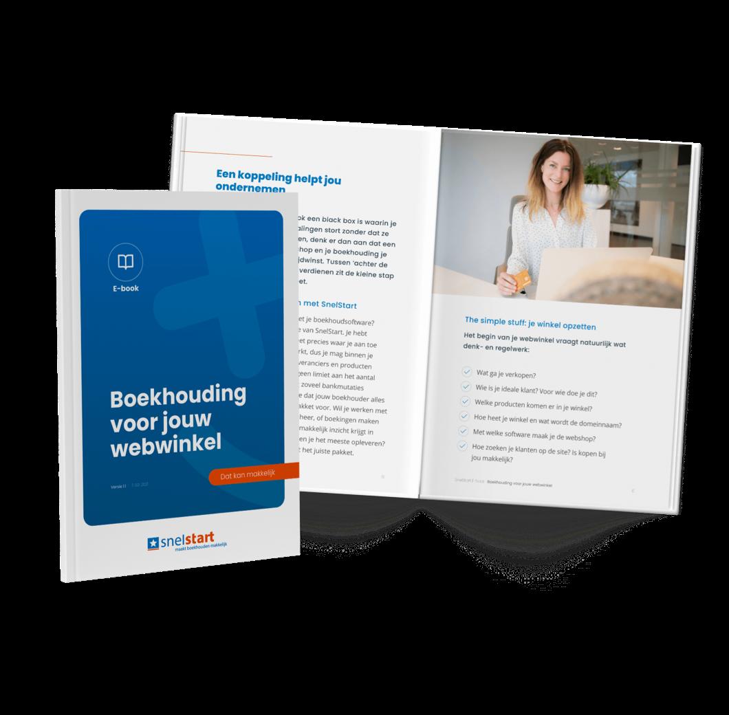 E-book Boekhouding voor jouw webwinkel