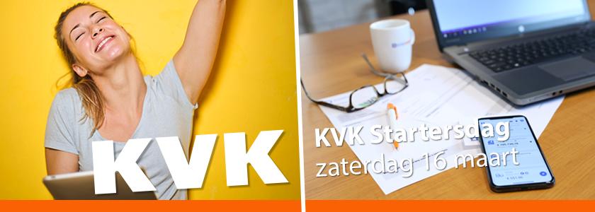 Ontmoet SnelStart tijdens de KVK Startersdag op 16 maart!