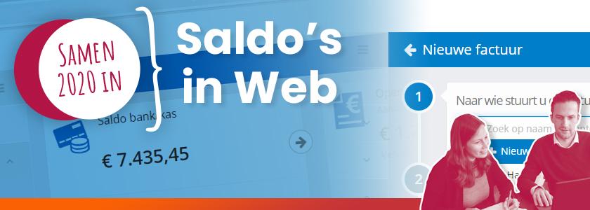 In SnelStart Web lopen je saldo's door op 1 januari