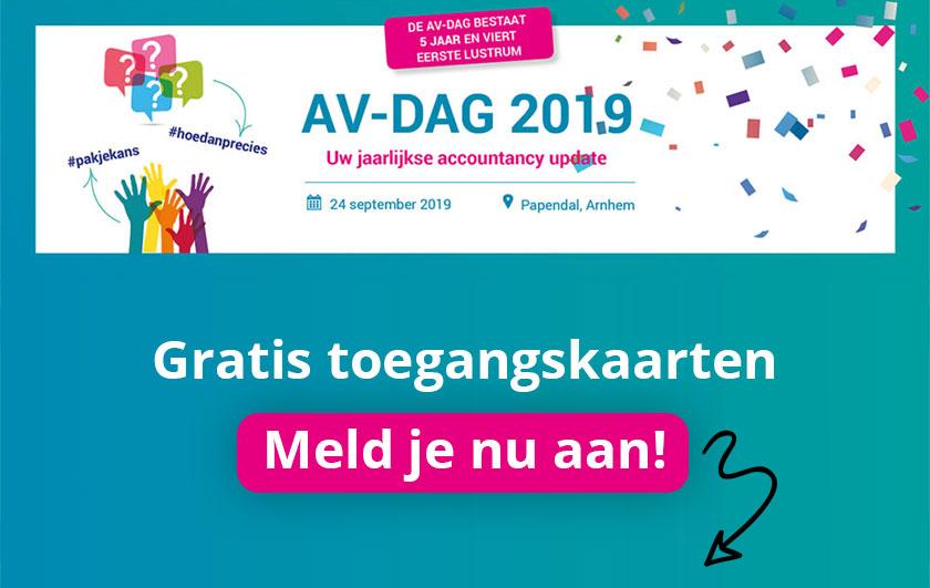 AV-Dag 2019 - jouw jaarlijkse accountancy-update