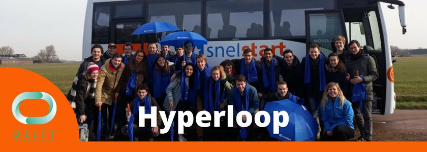 Studenten Team Delft Hyperloop op visite