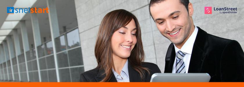 Kredietaanvraag snel geregeld met koppeling SnelStart en LoanStreet